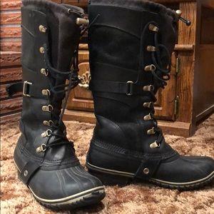 Lace up sorel boots